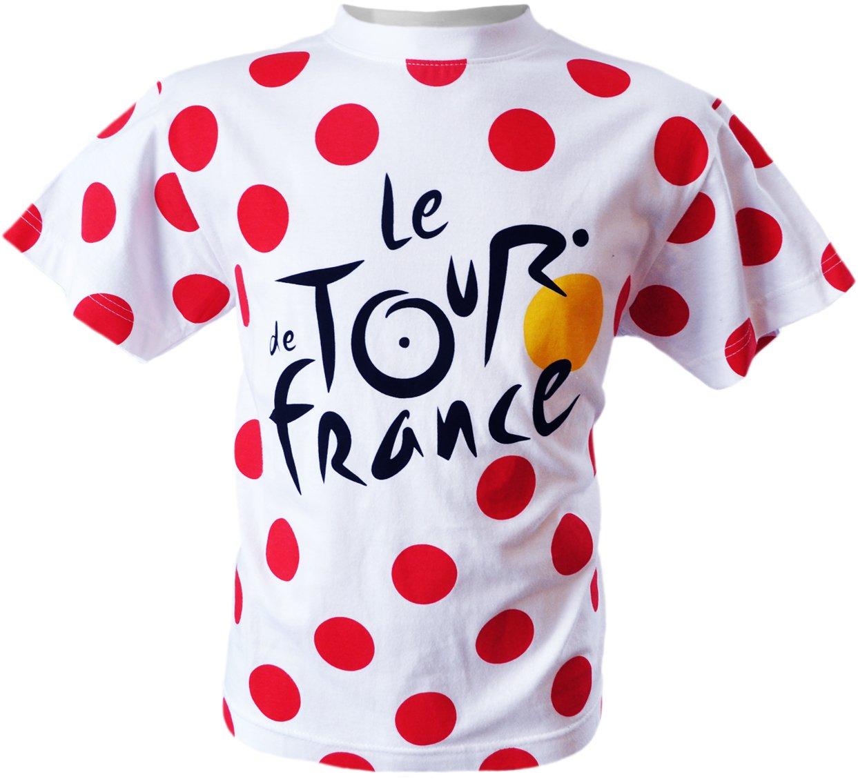 Tour de France TDF-SE-3065 Children's T-Shirt with Polka Dots