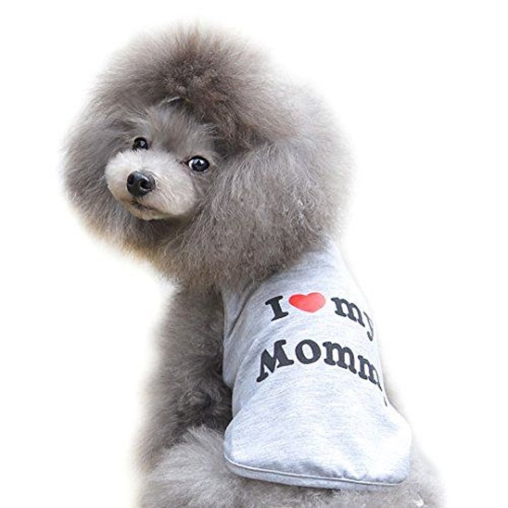 Ducomi Pets Love Cotton T-Shirt for Dogs and Cats