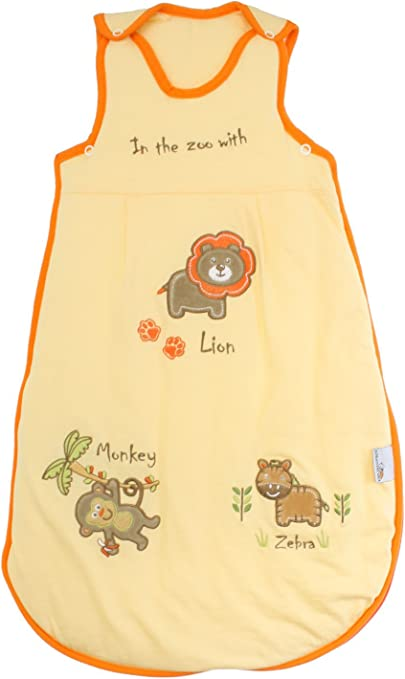 Slumbersac Baby Sleeping Bag 2.5 Tog 6-18 Months//Medium Sunshine Zoo