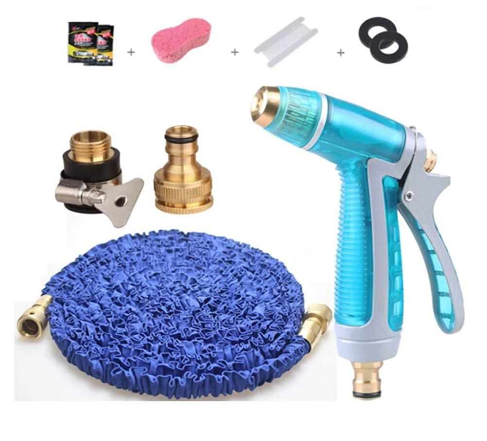 Ameuli Pistola per pulizia auto - ugello in lega per giardino ad alta pressione - pistola per lavaggio auto a casa - gonfiabile - doccia per pulizi,blu