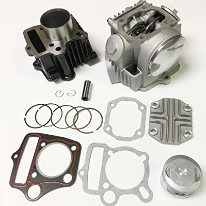 Amazon com: NEW CYLINDER REBUILD ENGINE KIT HONDA ATC70 CRF70 CT70