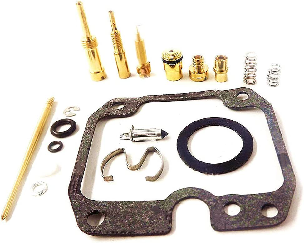 Carb Repair Carburetor Rebuild Kit for Kawasaki 220 KLF220A Bayou 1988-1998