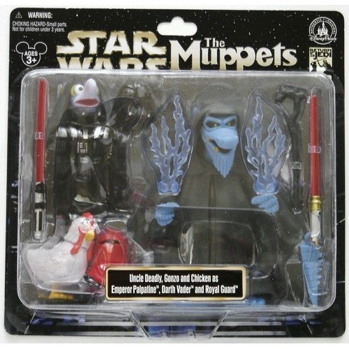 Disney Star Wars Weekends 2013 Muppets Uncle Deadly Gonzo Figure Darth Vader ()