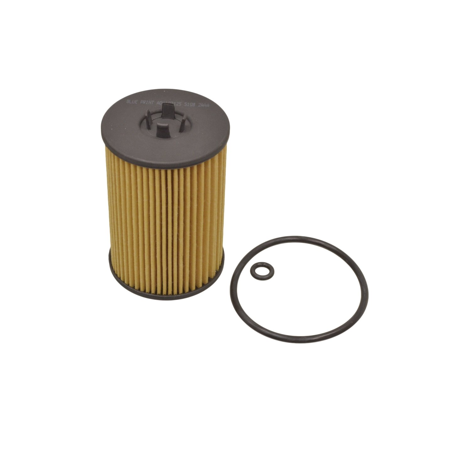 pack of one Blue Print ADV182125 Oil Filter with seal rings