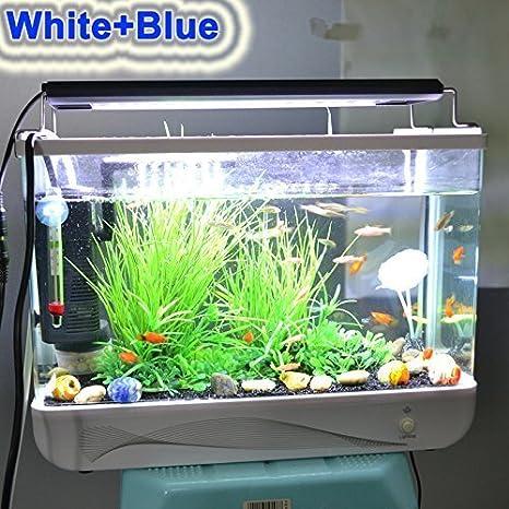 Iluminación LED para acuario, alta intensidad, 96 cm, 23 W, para acuario de agua dulce o salada: Amazon.es: Iluminación