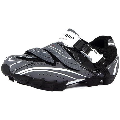 Shimano - Zapatillas de ciclismo, color Weiss, talla 45 Breit: Amazon.es: Zapatos y complementos