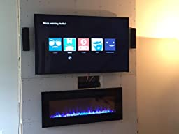 Amazon.com: Napoleon EFL50H Linear Wall Mount Electric Fireplace ...