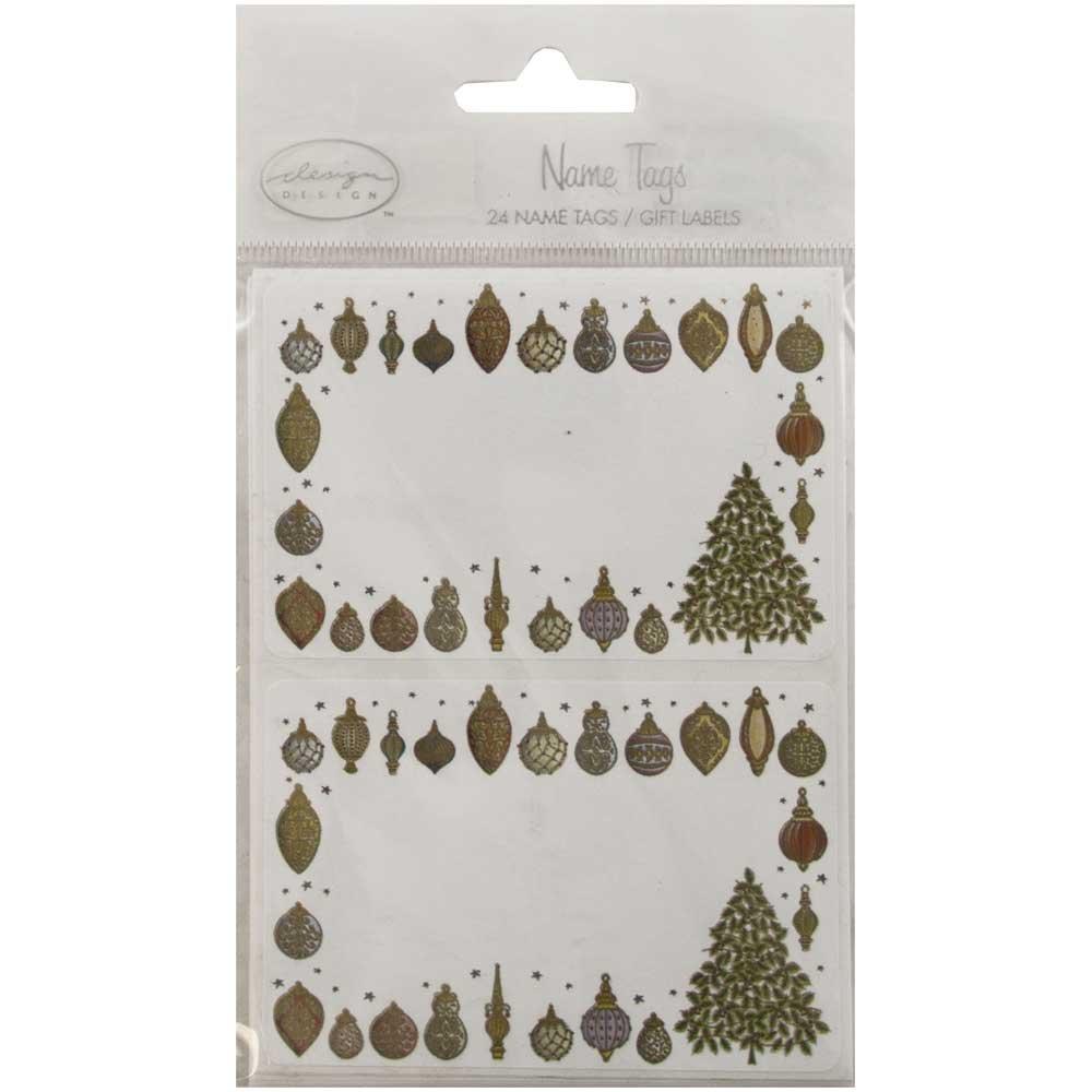 Amazon.com: JAM PAPER Christmas Gift Label Stickers - 2 1/4 x 3 1/2 ...