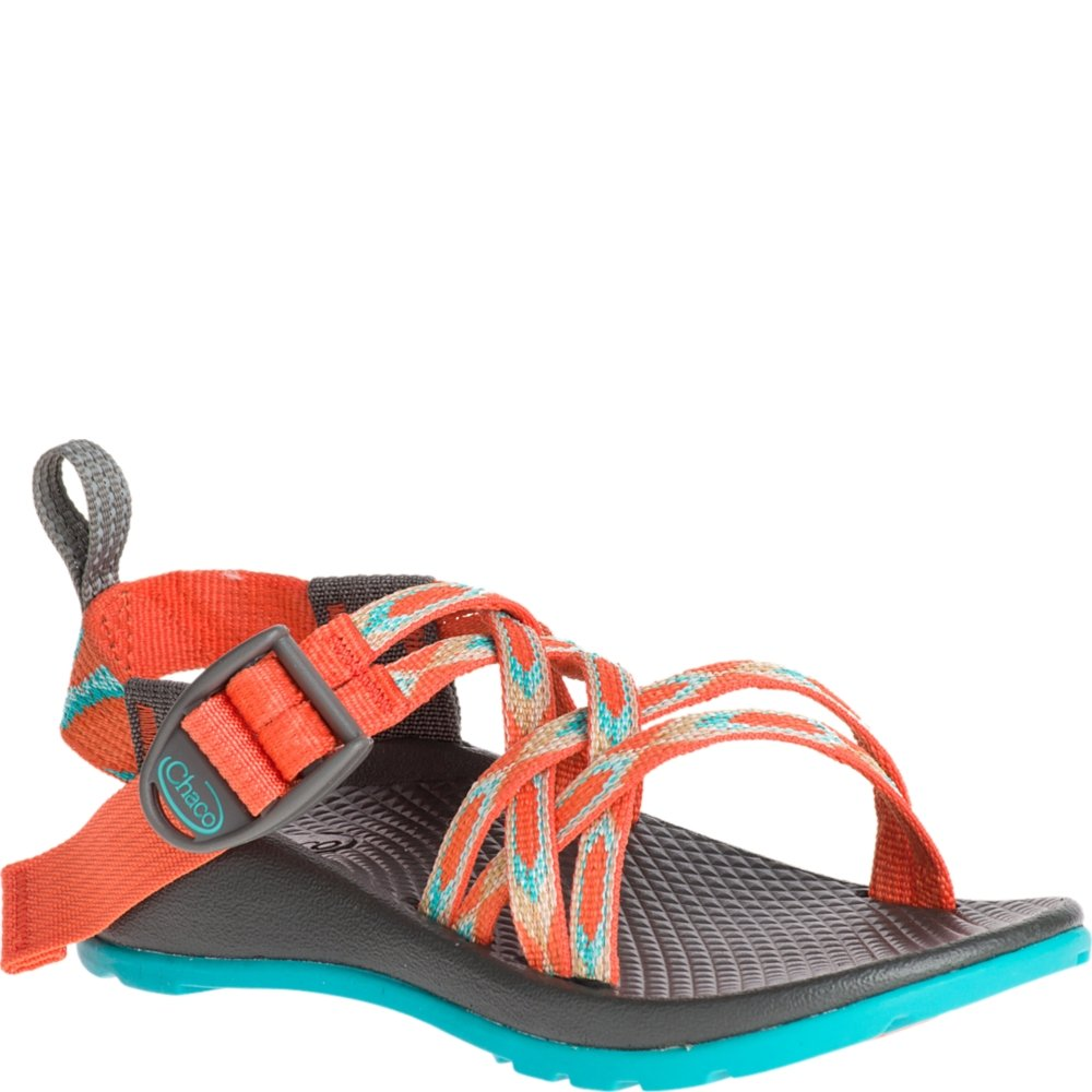 Chaco Kids ZX/1 Ecotread Little Kid 10 Zigzag Coral