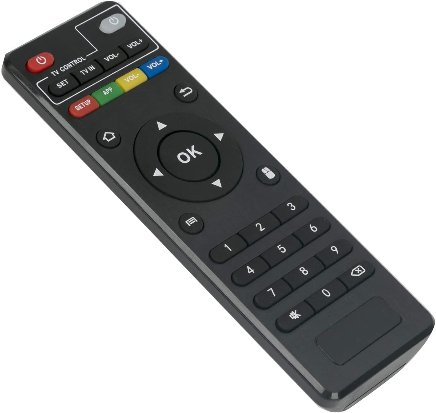 Replacement Remote Control Accessory for MXQ Android TV Box IPTV X96 T95 H96 V88