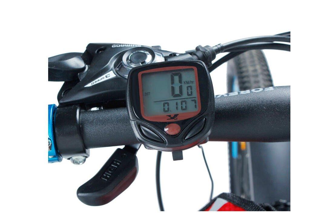 TAVLAR Waterproof Bicycle Bike Cycle LCD Display Digital Computer Speedometer Odometer