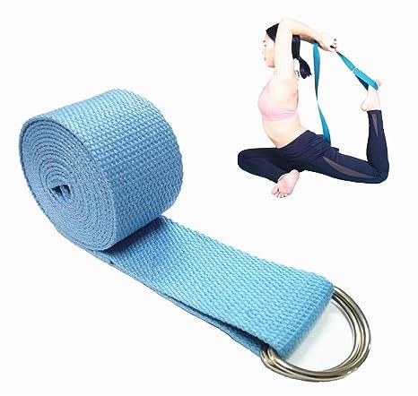 Amazon.com : SamGreatWorld 6FT Yoga Strap Durable Cotton ...