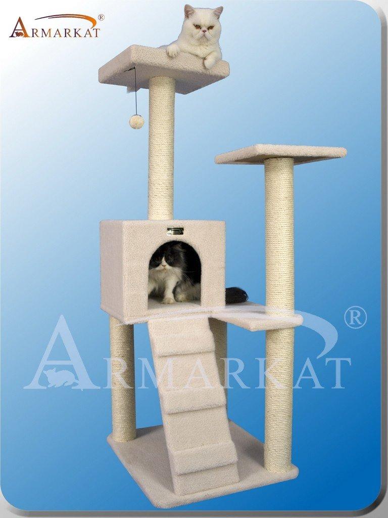 ARBOL para GATOS de ARMARKAT modelo CLASSIC FAUX FLEECE B5301