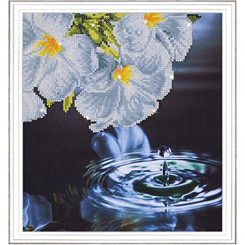 Needleart World DD5.019 15.75'' x 17'' Water Droplet Diamond Dotz Embroidery Facet Art Kit, Multicolor by Needleart World