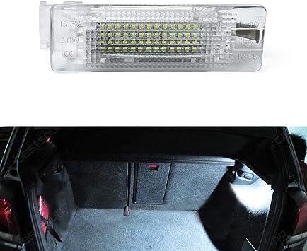TOOL For 2007-2016 Volkswagen VW EOS 12 x Canbus White Interior LED Lights Kit