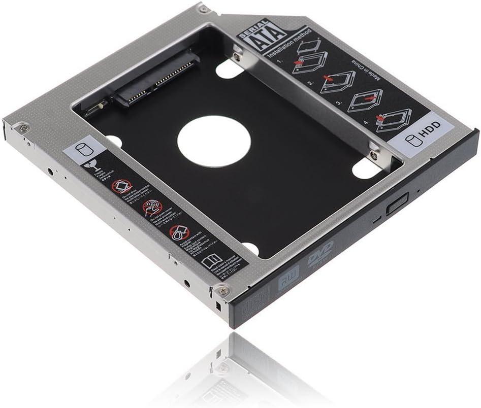 RGBS funda SATA 2 nd HDD disco duro HD Caddy para 12,7 mm ...