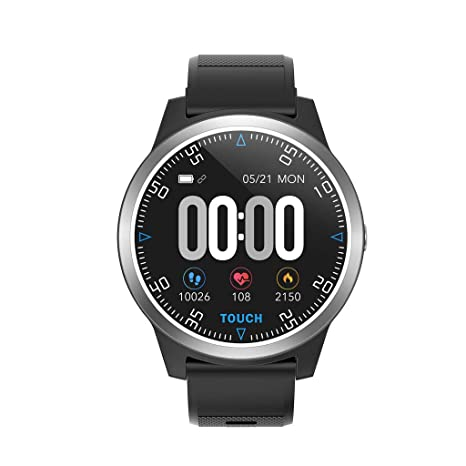 Amazon.com : Eiowords PPG ECG Smart Watch Monitor Blood ...