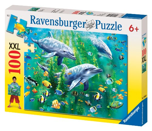 Ravensburger Dolphin - Ravensburger Dolphin Trio - 100 Pieces Puzzle