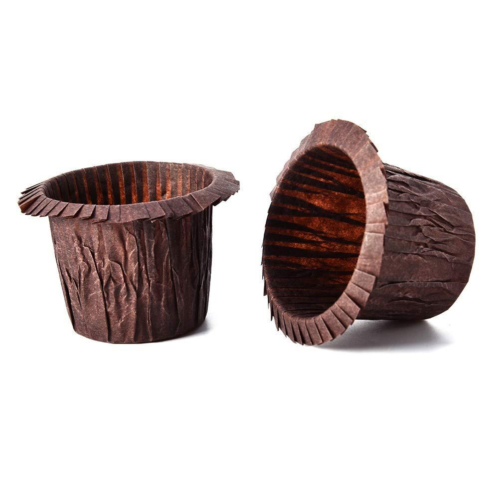 muffin Gold topxingch 30 fogli di carta resistente alle alte temperature per torta