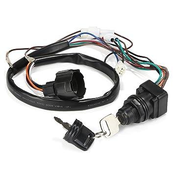 Rupse Conjunto de Interruptor de Llave de Encendido para Caja de Control Remoto fueraborda Suzuki 37110-93J00