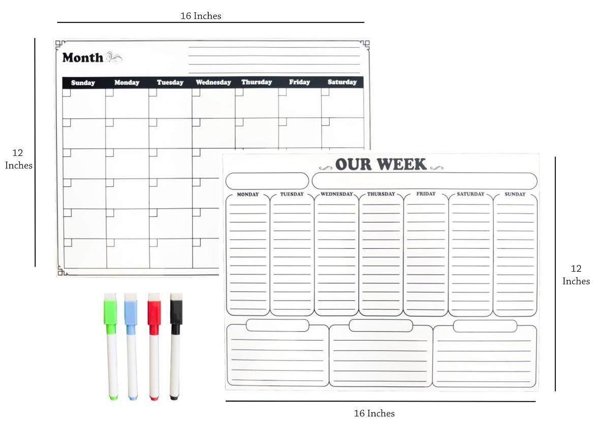 KEEP TRACK OF MONTHLY & WEEKLY APPTS!