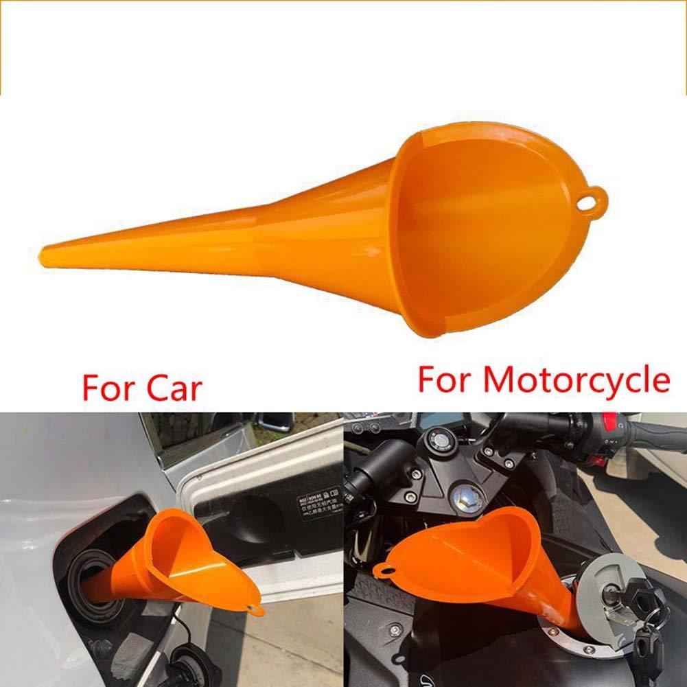 Hihey Moto Auto di rifornimento Multi-Funzionale pi/ù Lungo Imbuto Benzina Olio Motore additivo additivo per Macchine agricole Diesel