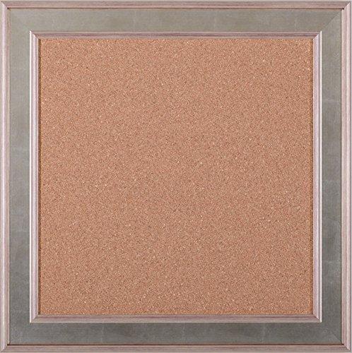 Art Effects Square Cork Board, Silver by Art Effects, Inc