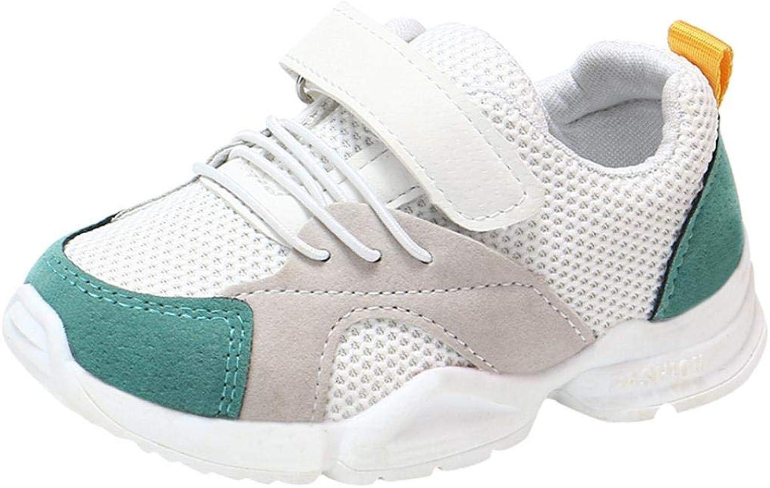 Zapatillas Unisex Niños,ZARLLE Casual Velcro Zapatillas Niño Zapatillas De Malla para Bebés Zapatos De Bebé Zapatillas De Deporte Sneakers Transpirables Antideslizante Zapatos: Amazon.es: Ropa y accesorios