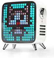 Divoom Tivoo Max Multifunctional 40W Premium LED Bluetooth Speaker with 10000 mah Lion Battery, White