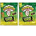 Warheads Extreme Sour Hard Candy 2oz Bag (Pack of 2) Assorted Flavors -By Impact Confections