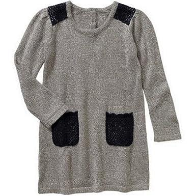 51a40e9817d Amazon.com  Healthtex 3T Girls Toddler Sweater Knit Dress Soft ...