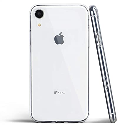 buy popular 909f1 ce935 totallee Clear iPhone XR Case, Thin Soft Cover Slim Flexible TPU - for  Apple iPhone XR (2018) (Transparent)