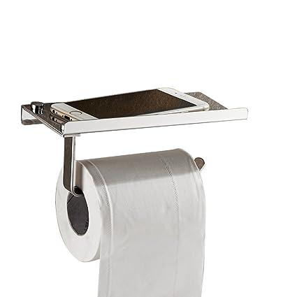 Acero inoxidable SUS 304 baño de almacenamiento de papel higiénico toalla de papel cocina dispensador Stick