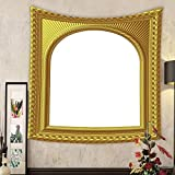 Lee S. Jones Custom tapestry arch picture frame