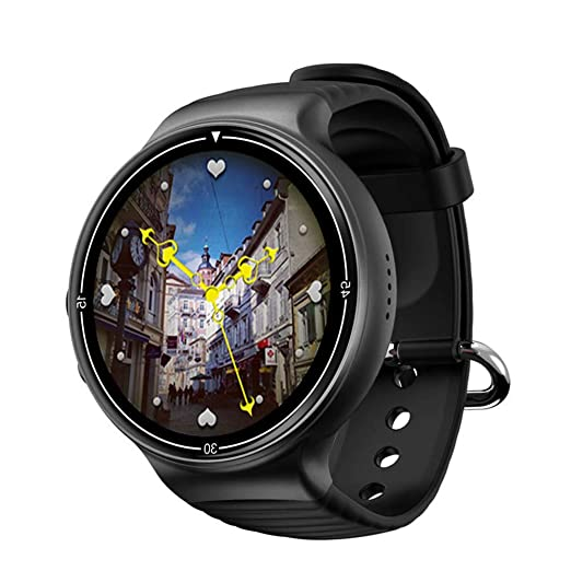 JASZHAO 4G Android Smart Watch IP67 Impermeable 2MP Cámara ...