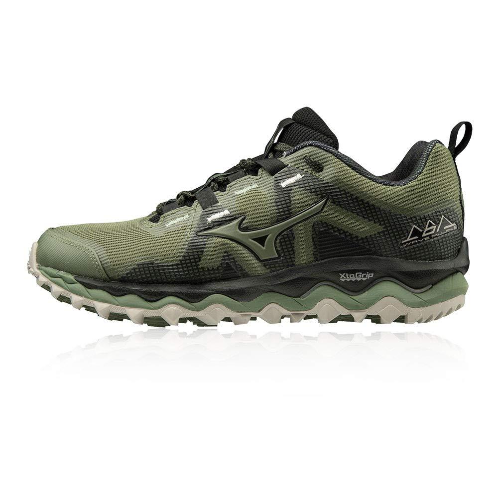 Vert (Olivine Olivine noir 32) 40 EU Mizuno Wave Mujin 6, Chaussures de Trail Femme