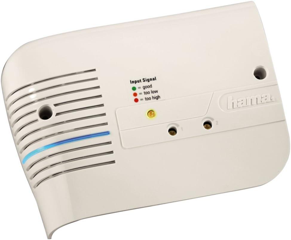Hama Sg1 Bk Hausanschlussverstärker Mit Rückkanal Weiß Elektronik
