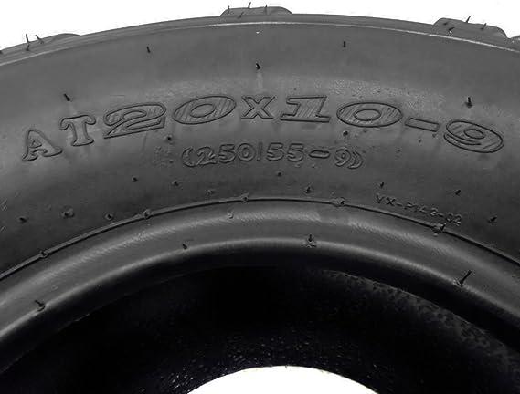 ATV UTV Quad Tubeless Tipo Tire tamaño 20 x 10 x 9 – trasera ...
