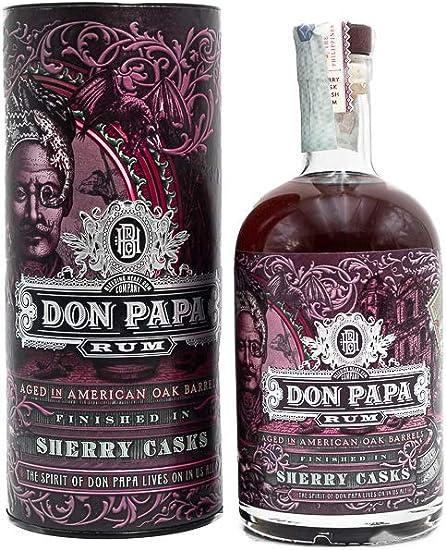 Don Papa Sherry Cask Finish Rum, Philippines: Amazon.es ...