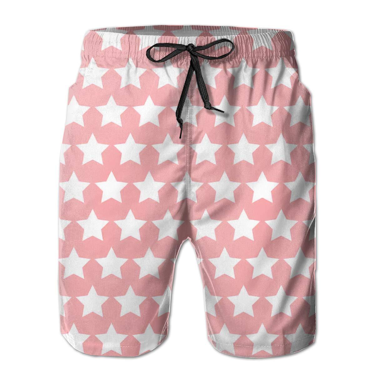 Men Comfortable Hawaii Beach Traveler Vintage Beach Shorts Swim Trunks Board Shorts