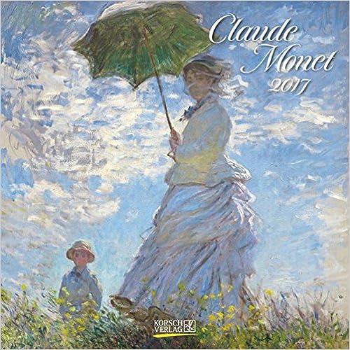 Claude Monet 2017. Broschürenkalender: Mit Ferienterminen