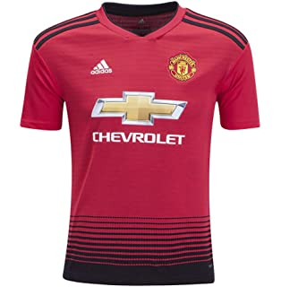 48ab2f968 adidas World Cup Soccer Manchester United Soccer Youth Manchester United FC  Home Jersey
