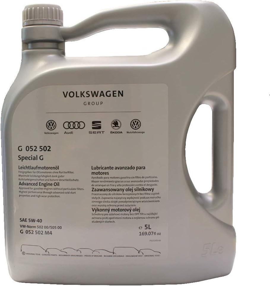 Aceite para motor de marcha suave 5 L G_052502M4: Amazon.es: Coche y moto