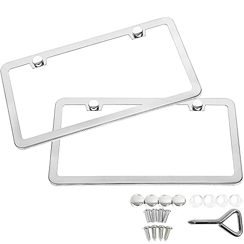 SunplusTrade License Plate Frame