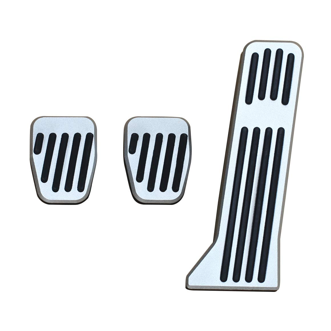 No Drill Brake Accelerator Gas Clutch Foot Pedal Covers For Mazda 2 3 6 CX3 CX5