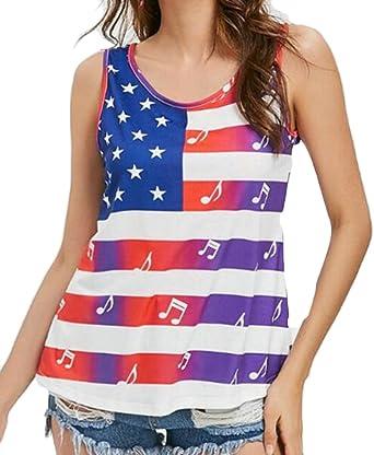 62208d690a402 UUYUK-Women Print Floral Stylish Sleeveless Backless Blouse Tank Top one US  XS