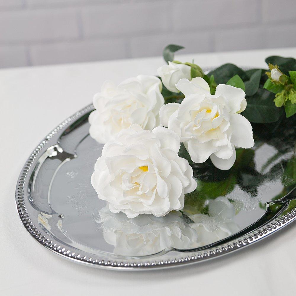 Amazon Paperlanternstore White Gardenia Realistic Single