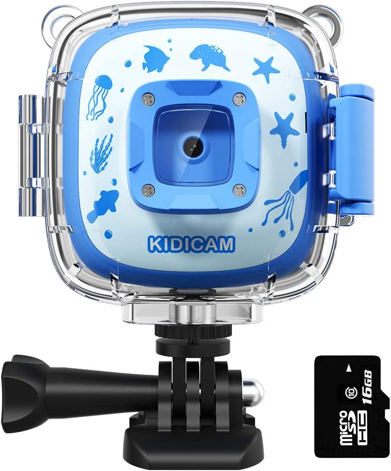 User Deal: Dragon Touch Kidicam 2.0 Kids Action Camera, Waterproof Digital Camera