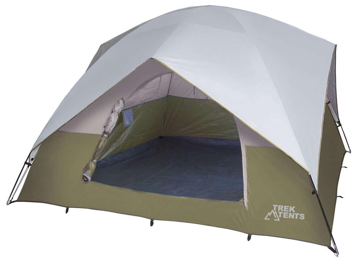 Amazon.com  Trek Tents 218 Dome Tent 10u0027 x 10u0027 Tent Tan/White  Sports u0026 Outdoors  sc 1 st  Amazon.com & Amazon.com : Trek Tents 218 Dome Tent 10u0027 x 10u0027 Tent Tan/White ...