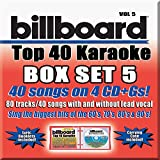 Billboard Top 40 Karaoke Box Set Vol. 5 [4 CD+G][40+40-Song Party Pack]